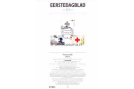 Nederland Importa EDB111 (NVPH 1532-1534) Eerstedagblad 125 jaar Nederlandse Rode Kruis 1992