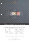 Nederland NVPH 487-489 Postfris GECERTIFICEERD FOTOLEVERING Koningin Wilhelmina Hartz Hoge Waarden 1948