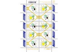 Nederland NVPH V2514-2515 Postfris Velletje Europa, 100 jaar scouting 2007