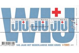 Nederland NVPH 2512 Postfris Blok met 3 zegels van 0,44+0,22 euro 2007