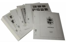 Lindner Inhouden / T-Voordruk albumbladen met folie voorbladen met stroken (Inhoud) Australië 1998-2003 (48 bladen) (Lindner 470-98)