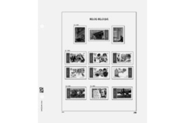 DAVO Luxe bladen België Frankeervignetten (V) (Per 5 stuks)