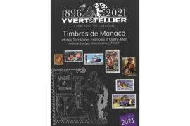 Yvert & Tellier Postzegelcatalogus Monaco-Andorra-Franse Overzeese Gebiedsdelen 2021 (ISBN 978-2-86814-297-9)