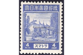 Sumatra NVPH JS5 (4 cent) Ongebruikt Frankeerzegels 1943-1944