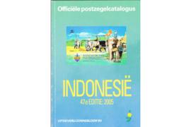 GEBRUIKT Postzegelcatalogus Zonnebloem Indonesië 2005