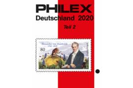 Philex Duitsland 2020 Deel 2 Catalogus in kleur