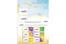 Nederlandse Antillen NVPH 1458 Gestempeld Blok Persoonlijke postzegels ; 6 zegels van 95 ct 2003