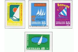 Nederlandse Antillen NVPH 625-628 Postfris Sport, Sailing, Regatta Bonaire 1979