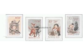 NVPH 1275-1278 Postfris Kinderzegels 1982