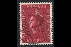 SINGKAWANG 16-11-1938 op NVPH 236 (SvL 1)