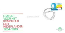 Nederland NVPH E101 Onbeschreven 1e Dag-enveloppe Statuut 1969