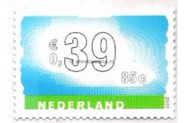 Nederland NVPH 1989 Postfris (Doorgestanst) (0,39/0,85) Tien voor uw post in dubbele waarde 2001