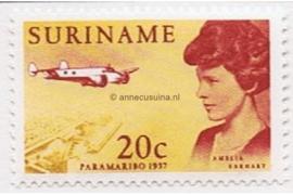 NVPH 477 Postfris (20 cent) Amelia Earhart 1967