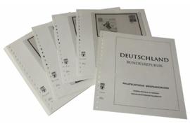 Lindner Inhouden / T-Voordruk albumbladen met folie voorbladen met stroken (Inhoud) Ganzsachen Filatelistische Brievenganzsachen 1998-2016 (49 bladen) (Lindner 120B-PG)
