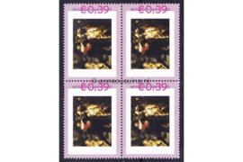 Nederland NVPH 2420-A-1 Postfris Abonnementsuitgaven (Persoonlijke Postzegels) Blokje van vier De Nachtwacht 2006