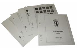 Lindner Inhouden / T-Voordruk albumbladen met folie voorbladen met stroken (Inhoud) Berlijn 1948-1959 (14 bladen) (Lindner 120C-48)
