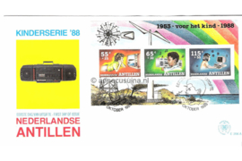 NVPH E206a Blok Kinderzegels 1988
