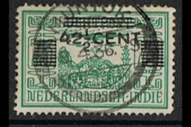 MUNTOK (PV1) 9-4-1936 op NVPH 214 (SvL 60)