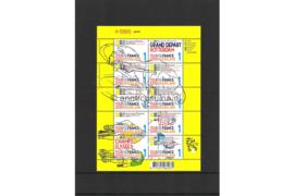 Nederland NVPH V2720-2729 Postfris Velletje Tour de France; Vel 10 x 1 2010