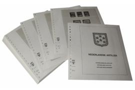 Lindner Inhouden / T-Voordruk albumbladen met folie voorbladen met stroken (Inhoud) Nederlandse Antillen 1986-1999 (46 bladen) (Lindner 430-86)