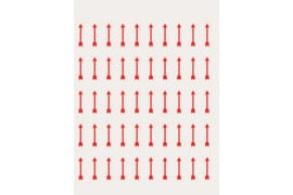Lindner Velletje markeerpijltjes (50 stuks)  (Lindner 802020)
