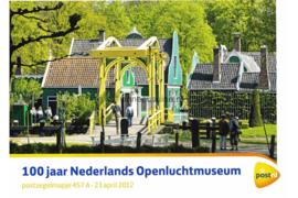 Nederland NVPH M457a (PZM457a) Postfris Postzegelmapje 100 jaar Nederlandse Openluchtmuseum 2012