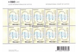 Nederland NVPH VD63 Postfris Velletje COUR INTERNATIONALE DE JUSTICE (Wereld 1) 2011