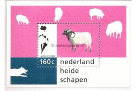 NVPH 1713 Postfris Blok Natuur en Milieu (Drents heideschaap) 1997