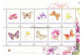 Nederland NVPH Janneke Brinkman Postfris Overige velletjes (Persoonlijke Postzegels) Velletje Nationaal Ouderenfonds Janneke Brinkman-Salentijn 2017
