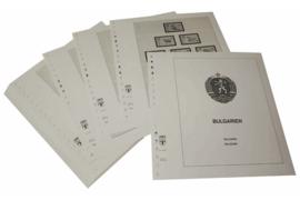 Lindner Inhouden / T-Voordruk albumbladen met folie voorbladen met stroken (Inhoud) Bulgarije 1967-1970 (40 bladen) (Lindner 135-67)