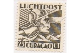 Curaçao NVPH LP7 Ongebruikt (25 cent) Mercuriuskop 1931-1939