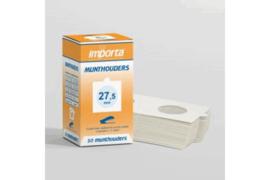 Importa Munthouders Om te nieten 27,5mm (50 stuks) (Importa MHN-27,5-q50)