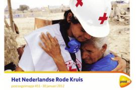 Nederland NVPH M451 (PZM451) Postfris Postzegelmapje Het Nederlandse Rode Kruis 2012