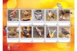 Nederland NVPH Herfstvogels Postfris Overige velletjes (Persoonlijke Postzegels) Velletje Herfstvogels 2017