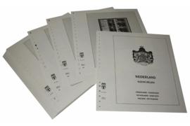 Lindner Inhouden / T-Voordruk albumbladen met folie voorbladen met stroken (Inhoud) Nederland Kleine vellen 2001-2006 (48 bladen) (Lindner 191K-01)