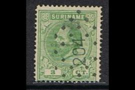 NVPH 4A Gestempeld FOTOLEVERING (3 cent) Koning Willem III Lijntanding 14 kl.g. 1870-1872