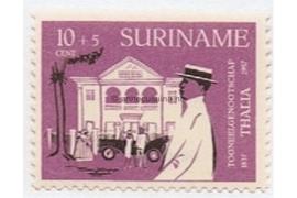 NVPH 327 Postfris (10 + 5 cent) 120 jaar toneelgezelschap Thalia