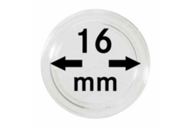Lindner Muntcapsules 16 mm Per Stuk (Lindner 2250016PS)