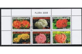 Zonnebloem 1579-1584 Postfris Bloemen/Flora 2008