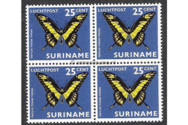NVPH LP49 Postfris (25 ct) (Blokje van vier) Vlinders 1972