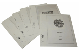 Lindner Inhouden / T-Voordruk albumbladen met folie voorbladen met stroken (Inhoud) Armenie 1992-2002 (28 bladen) (Lindner 255)