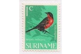 NVPH 439 Postfris (1 cent) Vogels 1966