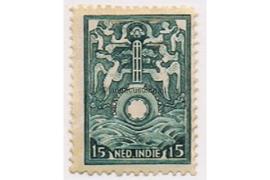 NVPH BK1 Ongebruikt (15 cent) Allegorische voorstellingen 1921