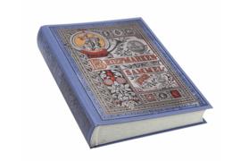 SAFE Retro Insteekboek Blauwe kaft / 60 blz. Witte bladen (SAFE 101)