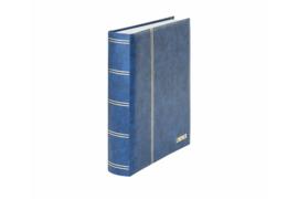 Lindner Insteekalbum Elegant (Luxe) Witte bladen/Blauwe kaft (Lindner 1162S-B)