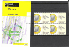 NVPH M202 (PZM202) Postfris Eurozegel 1999