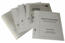 Lindner Inhouden / T-Voordruk albumbladen met folie voorbladen met stroken (Inhoud) Ganzsachen Brievenganzsachen 1998-2008 (55 bladen) (Lindner 120B-BG)