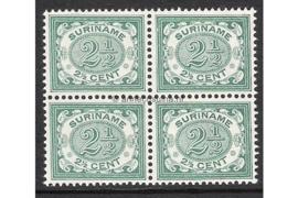 NVPH 44 Postfris (2 1/2 cent) (Blokje van vier) Cijfer 1900-1908