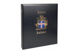 DAVO Luxe postzegelalbum IJsland I 1873-1989 INCL. LUXE CASSETTE