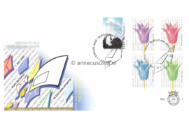 Nederland NVPH PBZ1 Onbeschreven Tulpen, Haringeter 2000